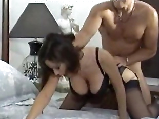 Hard fuck for noisy girlfriend